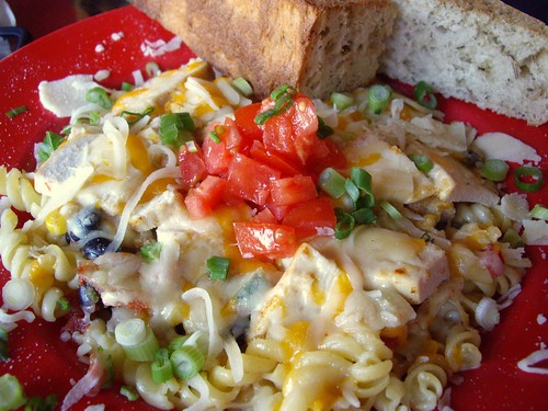 Southwestern Mac & Cheese with Chicken
