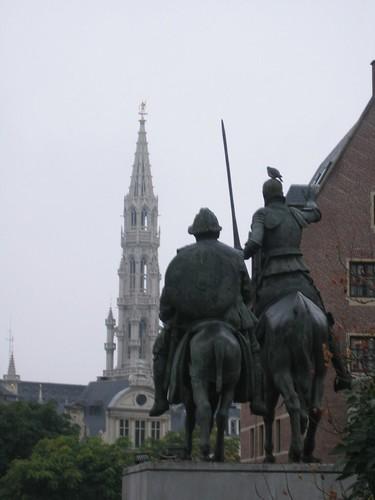 Quijote en Bruselas