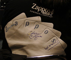 Surrounded by Zappos