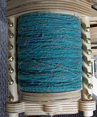 Full Bobbin, laceweight, on the Bee