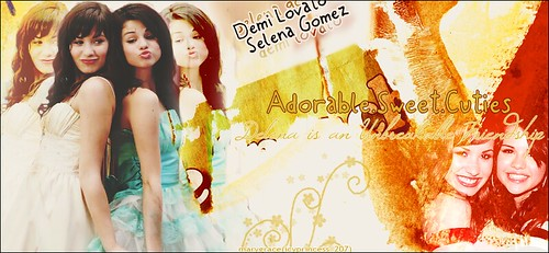 Selena & Demi by Icyprincess<3.