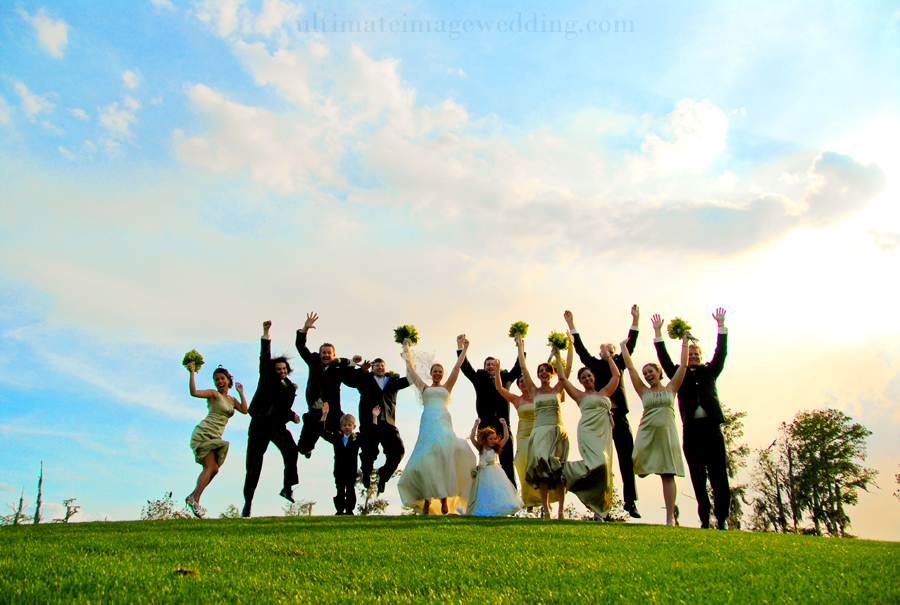 The Very COOL wedding party