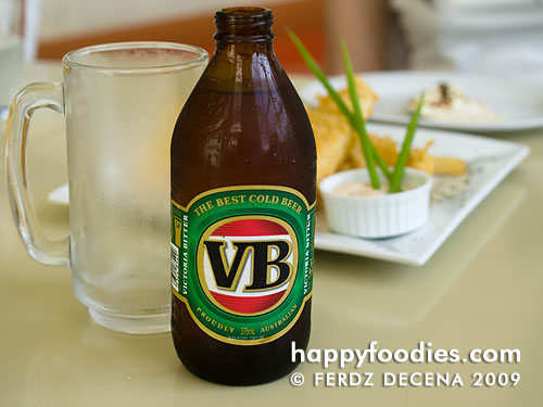 Austalian Victoria Bitter (VB) Beer (Php 130)