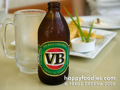 Austalian Victoria Bitter (VB) Beer (Php 130)