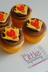 Heatblast Cupcakes (Ben 10) by TLC (TheLittleCupcakery) Tags: birthday cake little ben 10 alien aliens tlc cupcakery fourarms heatblast klairescupcakes