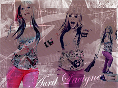 abbey dawn ♥ (makeadreeam) Tags: pink smile look photoshop hair stars fun words shoes funny photoshoot style clothes singer avril 2009 blend avrillavigne abbeydawn avrilramonalavigne avrillavignewhibley