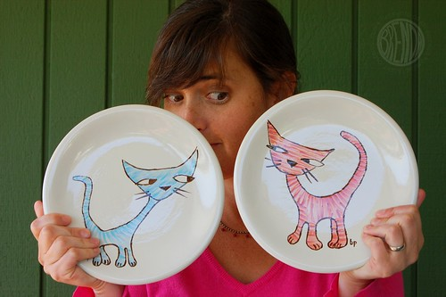 the cats meow plates
