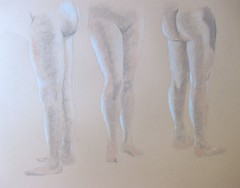 Lower Body Studies - Female Model