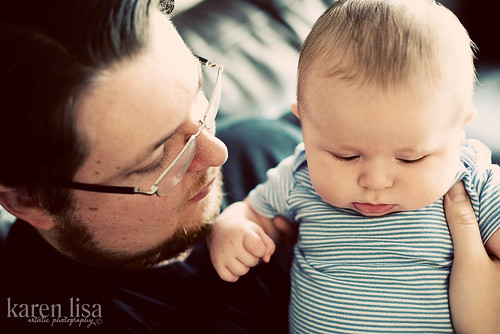 Daddy & Zachary