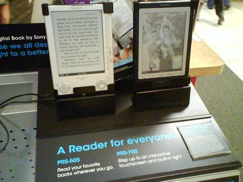 Sony E-Reader - 100 bøger med i købet