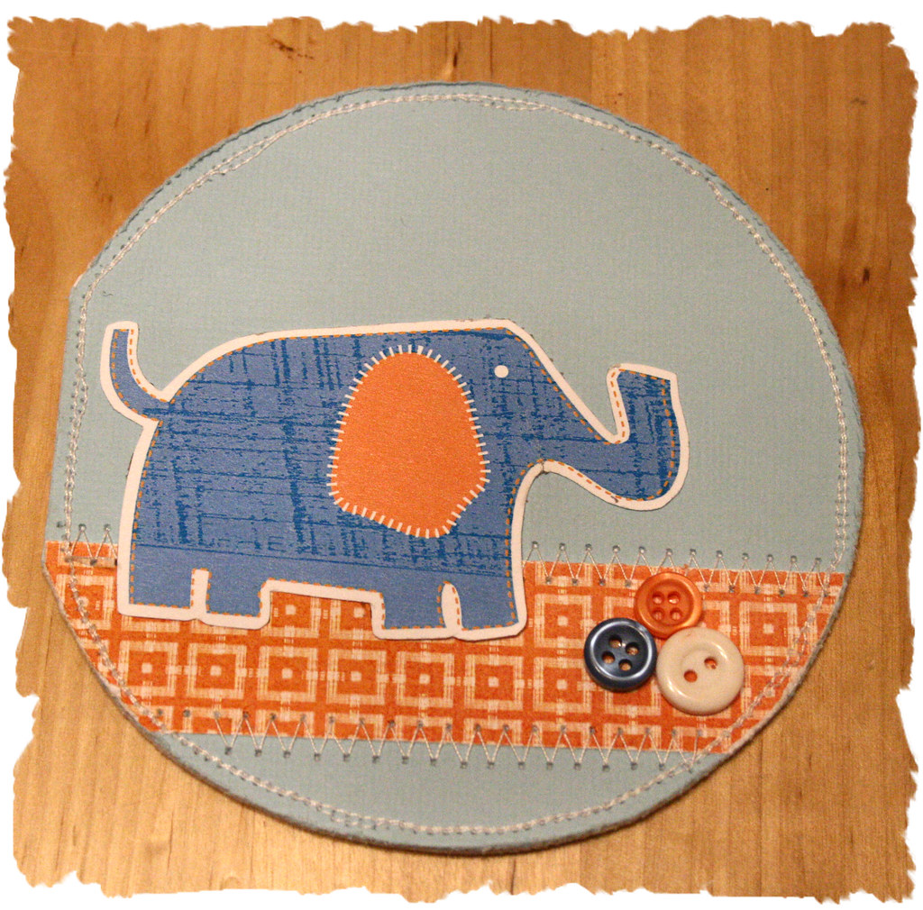 'Baby Elephant' Card