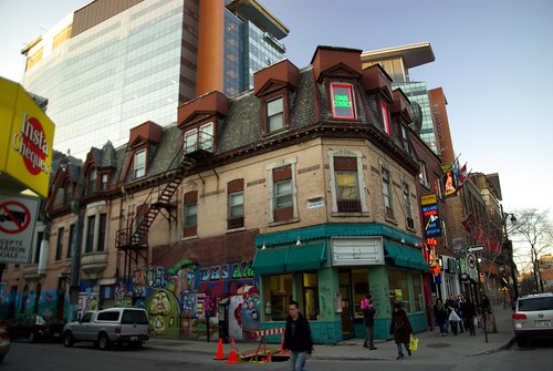 Ste-Catherine & Pierce, Montréal
