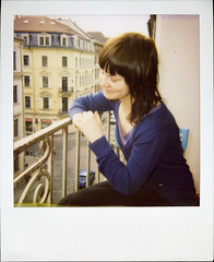 my first polaroid. hehe. (schommsen) Tags: blue favorite woman girl smile germany polaroid deutschland dresden balkon first jana epson blau augen frau expired polaroid600 stuhl balustrade lcheln closedeyes eyesshut neustadt gelnder gelaender louisenstrasse dresdenneustadt epson4490 4490 augenzu augengeschlossen polaroid636closeup geschlosseneaugen epsonperfection4490 firstpolaroid 636closeup expiredpolaroid schommsen analogistbesser louisenstrase httpwwwflickrcomphotos29543742n00