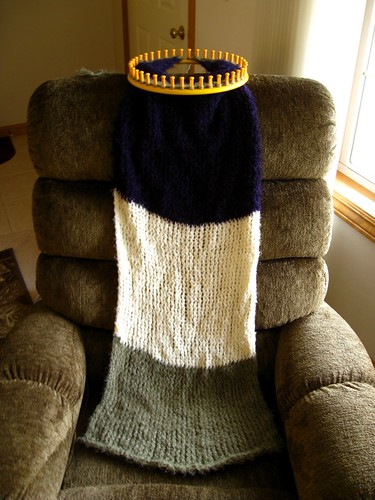 Yarn Bee sampler afghan