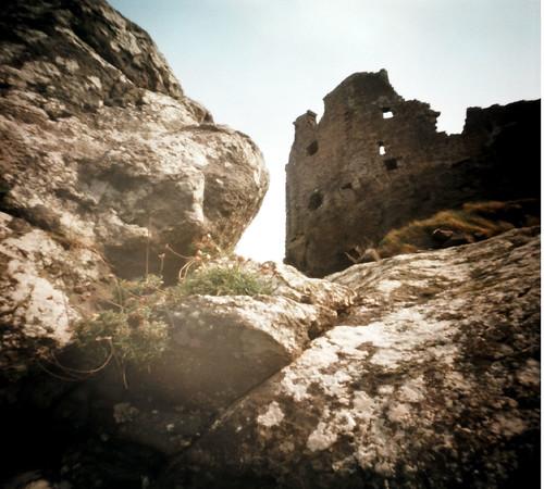 Dunure castle Pinhole