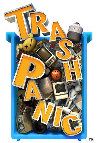 Trash Panic logo