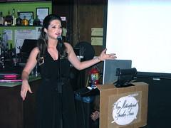 Julia Allison at the Non-Motivational Speaker Series - April 2009 (gelfmagazine) Tags: april gelf internetfamous jamiewilkinson danmeth juliaallison gelfmagazine nonmotivationalspeakerseries