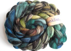Kettle dyed Jacob Humbug 1- 3.5oz by Shunklies