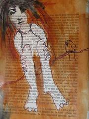 dessin, collage, peinture