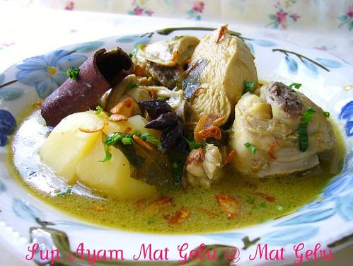 Sup Ayam Mat Gebu