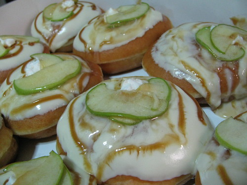 Apple Cheesecake doughnuts by Krispy Kreme