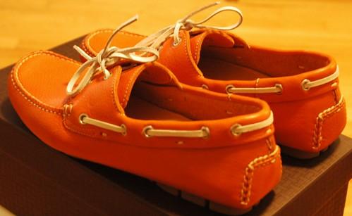 Orange Cole Haan