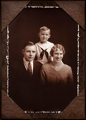 Child and parents circa 1928