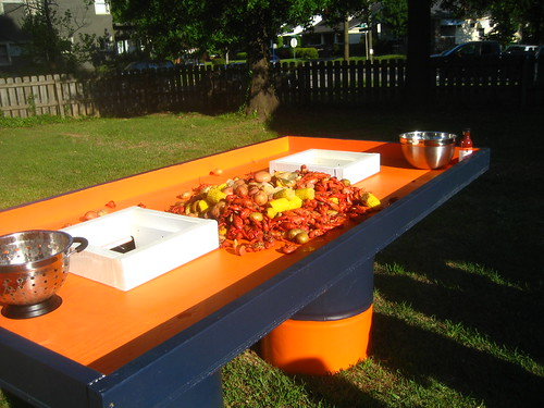 Crawfish Boil - Ingenious Crawfish Table