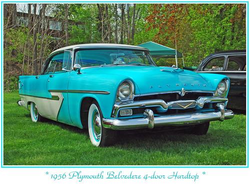 Plymouth belvedere savoy cranbrook 1949 1956 car for 1956 plymouth belvedere 4 door