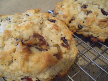 Cranberry Oatmeal Scones