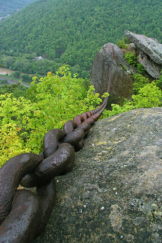 Chained Rock. Pineville, KY