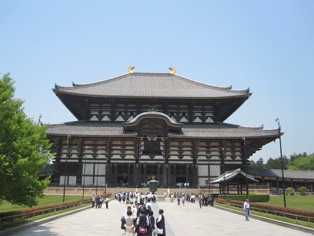 Beautiful Todaiji temple