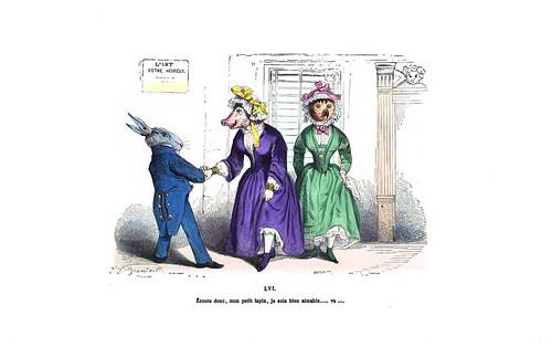 005-Les métamorphoses du jour (1869)-J.J Grandville