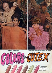 Colors by Cutex (The Pie Shops Collection) Tags: halloween vintage ads advertising 1966 mummy nailpolish mummies wolfman cutex