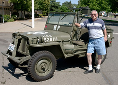 Korean War Military Police MB Jeep and my grandfather (mr. nightshade) Tags: usa soldier star hero militarypolice veteran authentic m38 koreanwar olivedrab wwiijeep willysmbjeep 30calmachinegun korea1944 korea44 papagirling robertgirling