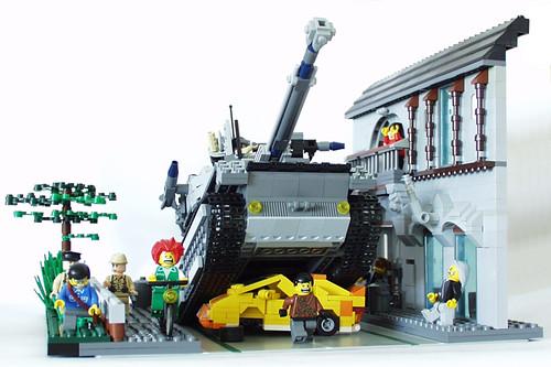 Diorama Tank MOC