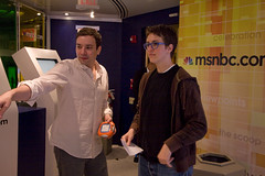 Rachel Maddow with Jimmy Falon (The Rachel Maddow Show) Tags: msnbc rachelmaddow msnbccomdigitalcafe jimmyfalon therachelmaddowshow