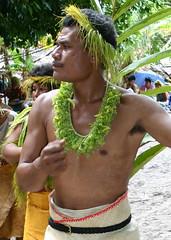 Tikopia Man (U Jay) Tags: polynesia solomonislands tikopia polynesianmen polynesiandance polynesianoutliers