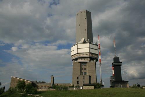 Sendeanlage auf dem Großen Feldberg