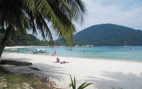 sun-bathing-at-perhentian