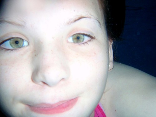Jamie took underwater photo of Marie
