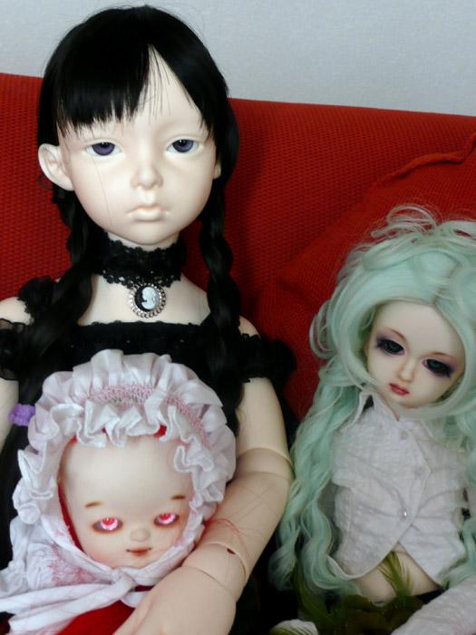 Tara Mae ( Dollmore Lusion )et  Isobel ( dollshe salubia ) 3657163287_6e8788074e_o