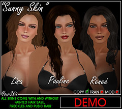 New Sunny Skin @ *YourSkin & YourShape*