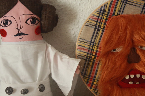 "my submissions for the "" Stitch Wars"" exhibition by super ninon."
