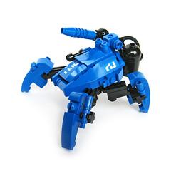 Tattaka - Riot Control Type (Fredoichi) Tags: robot lego space mecha mech multiped fredoichi