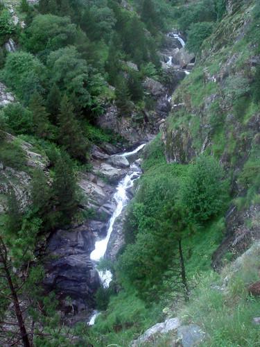 Cascadas del segundo tramo