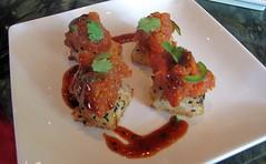 ra sushi - crispy spicy tuna
