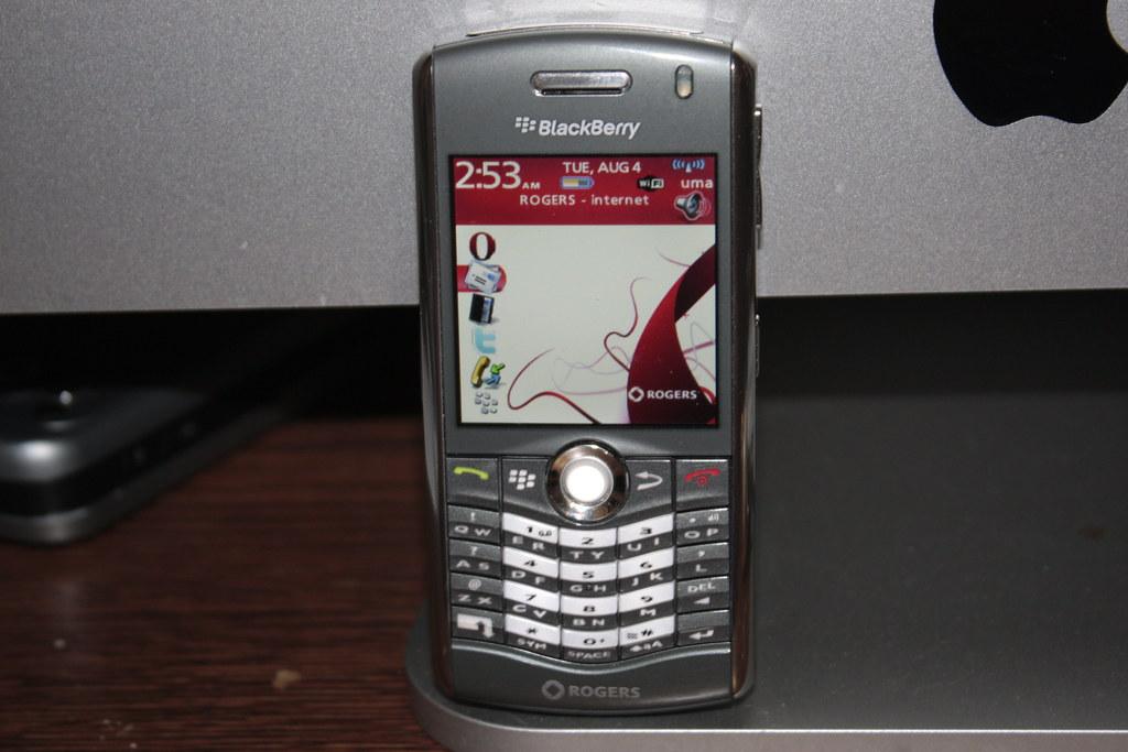 Rogers Blackberry Pearl 8120 phone