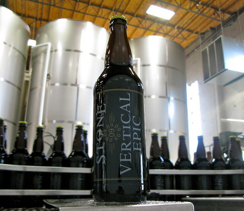 Stone 09.09.09 Vertical Epic Ale by stonebrewingco.