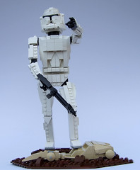 clone2 (Rogue Bantha) Tags: starwars lego clone clonewars clonetrooper whitejob